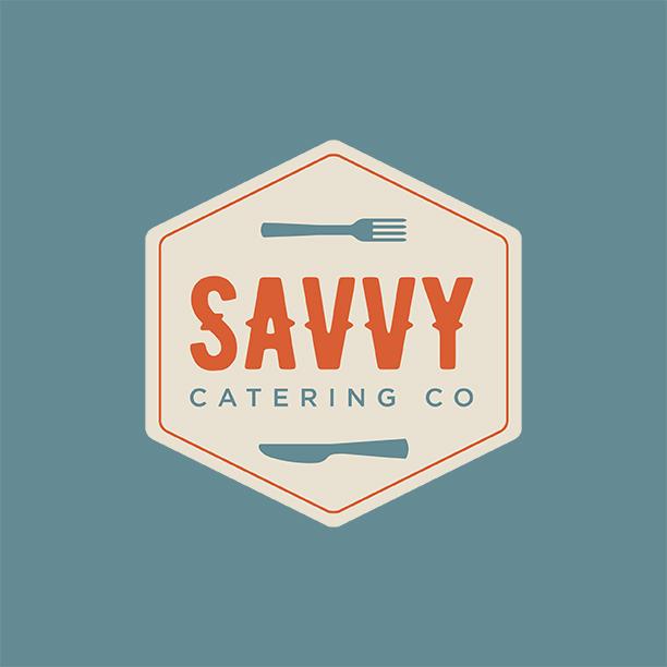 Savvy Catering Company Logo Design