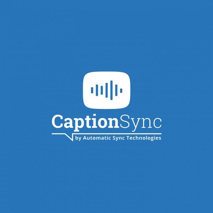 Caption Sync logo design