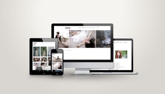 Melrose Hair Design - Responsive Web Design